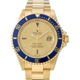 ロレックス コピー腕時計 サブマリーナ シャンパン  16618SG