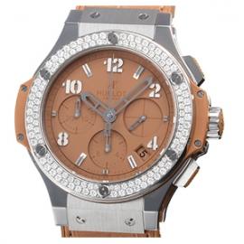 コピー腕時計 ウブロ ビッグバン スチール トゥッティフルッティ キャメルダイヤモンド341.SA.5390.LR.1104