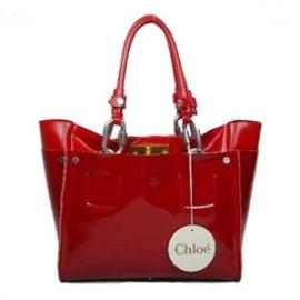 バッグ 偽物 Chloe クロエ ハンドバッグ 2836.5 レッド