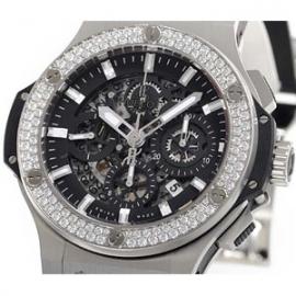 (HUBLOT)ウブロコピー メンズ時計 ビッグバン アエロバン スチール 311.SX.1170.RX.1104