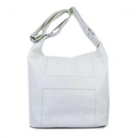 バッグ 偽物 エルメスブランド ショルダーバッグ「グッドニュースGM」 ホワイト HR11815