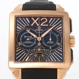 コピー腕時計 オメガ デビル コーアクシャル RG金無垢 メンズ 423.53.37.50.01.001