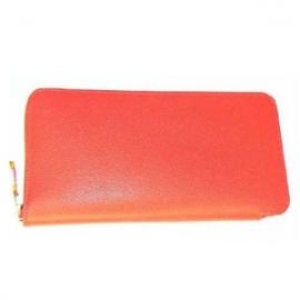 スーパーコピー 財布 (HERMES)エルメス   アザップ シルクイン 長財布 ブーゲンビリエ/ピンク(王者の虎) Her-35
