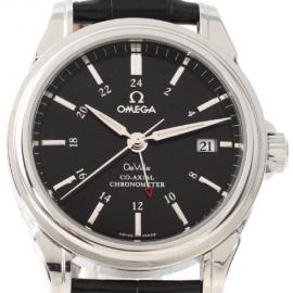 コピー腕時計 オメガ デビル 4833.51.31 クロノメーター GMT メンズ