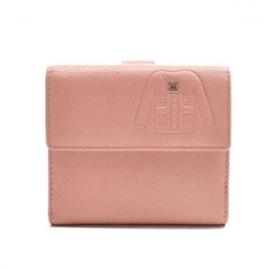 (CHANEL)シャネル コピー財布 二つ折り財布 レザー ジャケットモチーフ ココマーク A48687
