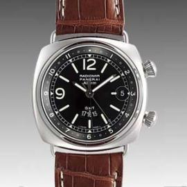 パネライコピー時計 ラジオミール GMTアラーム PAM00098