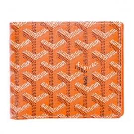 ゴヤールコピー二つ折り財布 オレンジ APM110 07
