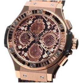 コピー腕時計 ウブロ 時計 ビッグバン ボアゴールドブラウン 世界限定250本 341.PX.7918.PR.1979
