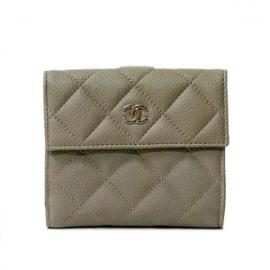 (CHANEL)シャネル コピー激安財布 タイムレスクラシック マトラッセ二つ折り財布 A48980