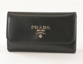 財布 コピー プラダ VITTELLO キーケース ブラック 1M0222