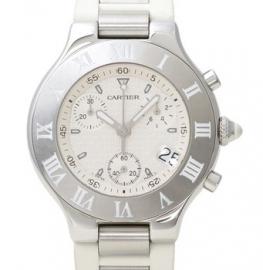 コピー腕時計 カルティエ 21 クロノスカフ 21 CHRONOSCAPH W10184U2
