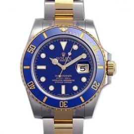 (ROLEX)腕時計 ロレックス オイスターパーペチュアル サブマリーナデイト 116613GLB