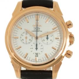 コピー腕時計 オメガ デビル コーアクシャル 4650.20.32 RG金無垢 クロノグラフメンズ