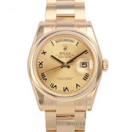 コピー腕時計 ロレックス オイスターパーペチュアルデイデイト118208