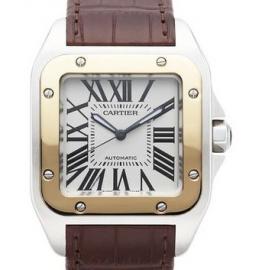 コピー腕時計 カルティエ 偽物 サントス100 Santos 100 W20072X7