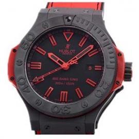 コピー腕時計 ウブロ 高級腕時計 ビッグバン キング オールブラックレッド 限定品 322.CI.1130.GR.ABR10