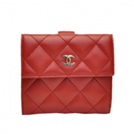 (CHANEL)シャネル コピー財布 二つ折り財布 マトラッセ ココ A48980