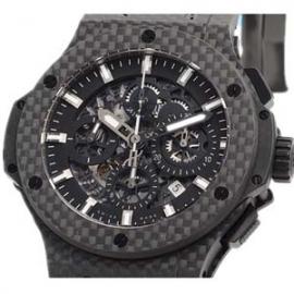 コピー腕時計 ウブロ N級品時計コピー ビッグバン アエロバン カーボン 311.QX.1124.RX
