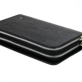 新品ルイヴィトンコピー財布黒十字紋双取っ手バッグ2012